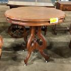 Eastlake occasional table( 30 in L) x (28.5 in H) x (21 in D)