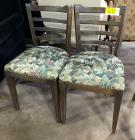 Chairs with upholstered Seat