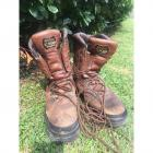 Lacrosse 1300 Leather Work Boots Men's Size 10