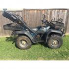 Suzuki King Quad 300 4x4 ATV-LOADED!  Just over 500 miles odometer reading!