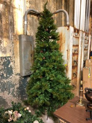 lot 247a of 341 9 ft slim christmas tree - 9 Foot Slim Christmas Tree