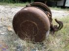AMAZING Original Steampunk Yale Spur Geared Block Chain Hoist Pulley- HUGE 2 TON LIFT!