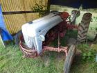 Ford 8 N Tractor with bush hog