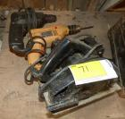 2 Corded Drills and Circular Saw