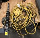 2 30 AMP Extension Cords, Extension Corded Lights & Large Power Strip