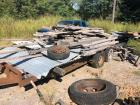 Large Lot of Lumber & Tin (Trailer NOT Included)