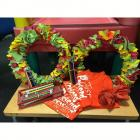 2 Felt Wreaths, Lots of Just Pretend Pencils, 3 Just Pretend T-Shirts, & Orange Umbrella