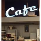"NEAT 5 ft. Wide Neon Café Sign- 24"" tall"