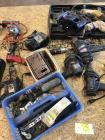 Large Lot of Electric Drills & Misc. Tools